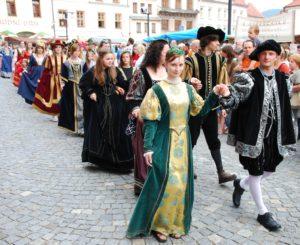 Historický průvod + ceremonie
