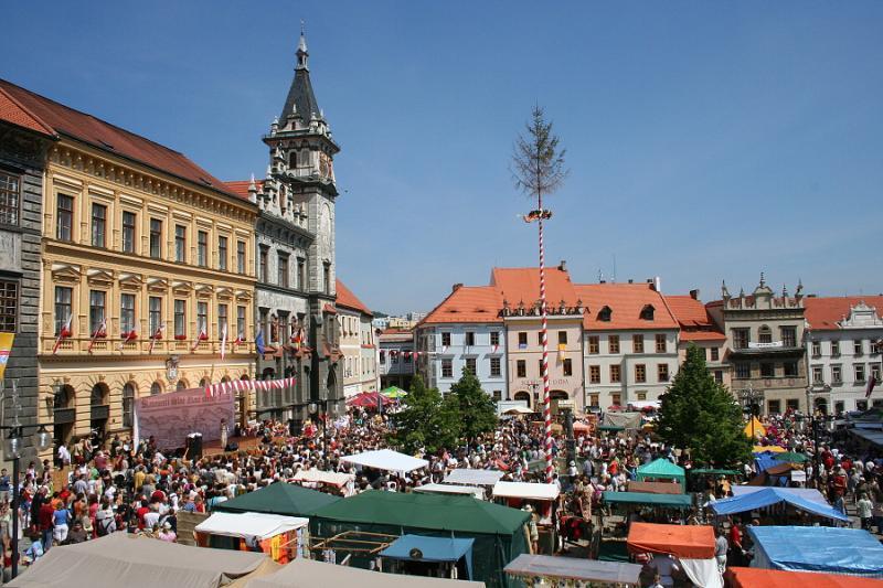 Slavnostní zahájení, ceremonie, průvod, příjezd soumarů @ Velké náměstí  | Prachatice | Jihočeský kraj | Česko
