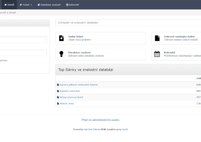 Helpdesk – MSDB Prachatice