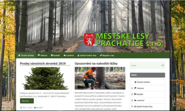 Městské lesy Prachatice s.r.o.
